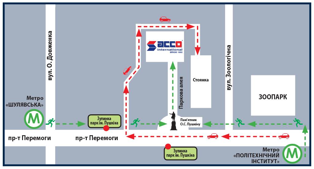 Транспортна розв'язка до виставкового центру АККО Інтернешнл